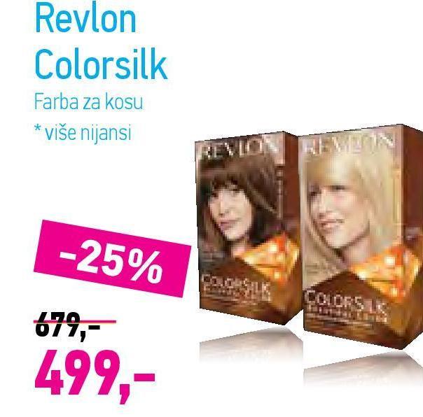Farba za kosu Color silk