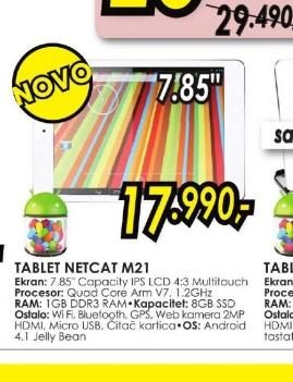 Tablet NETCAT M21