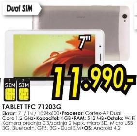Tablet Tpc71203g