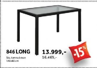 Baštenski sto Long 846