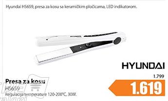 Presa za kosu HS659