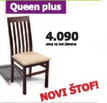 Stolica Queen Plus