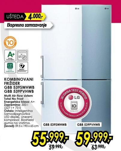 Kombinovani frižider Gbb 539Swhwb