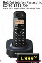 Bežični telefon KX-TG 1311 FXH