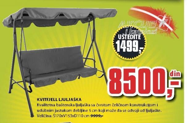 Ljuljaška baštenska Kvitfjell
