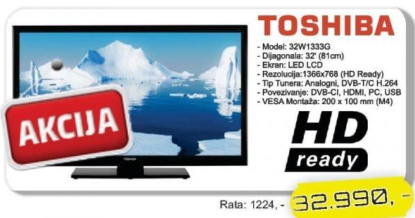 """Televizor LED 32"""" 32W1333G"""