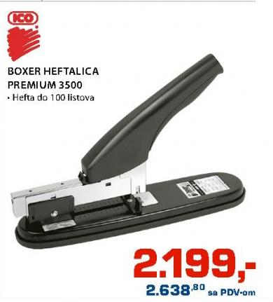 Heftalica Boxe Premium 3500