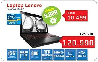 Laptop IdeaPad Y510P