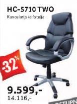 Kancelarijska fotelja Hc-5710 Two
