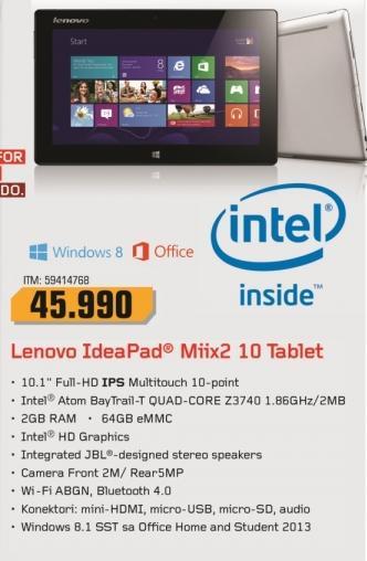 Tablet IdeaPad Miix2 10