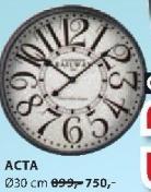 Zidni sat ACTA