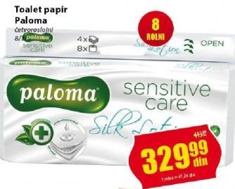 Toalet papir 4sl Sensitive care