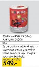 Pokrivna boja za drvo JUBIN DECOR
