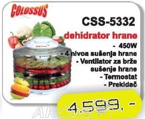 Aparat za sušenje hrane CSS-5332