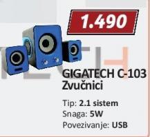 Zvučnici C-103