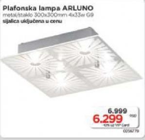 Plafonska lampa Arluno