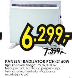 Panelni radijator PCH 2160W