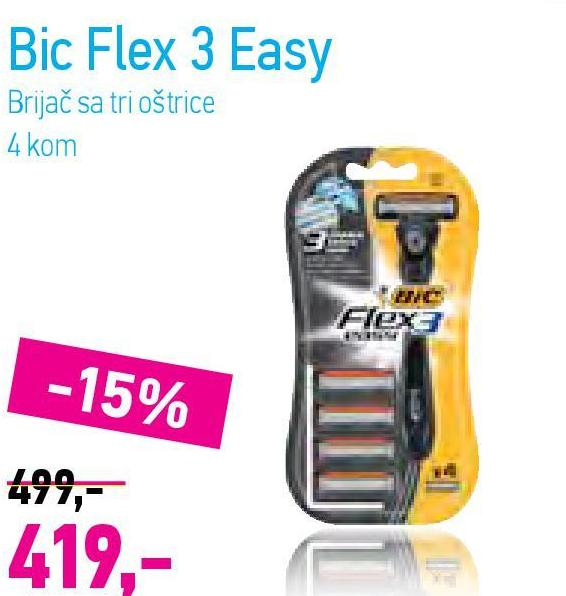 Brijač Flex 3 Easy