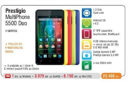 Mobilni Telefon 5500 Duo