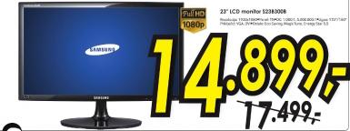 "LED LCD monitor S23B300B 23"""