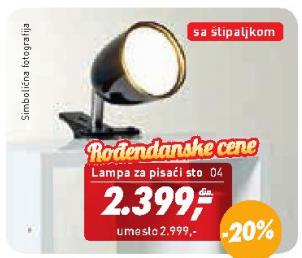 Lampa  za pisaći sto Pix