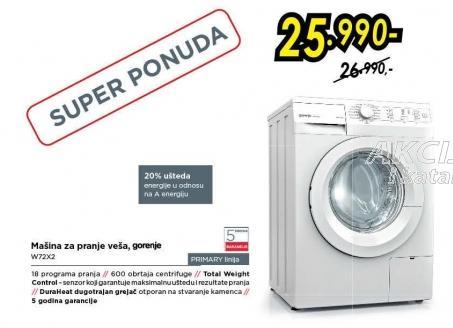 Mašina za pranje veša W72x2
