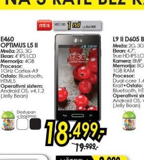 Mobilni telefon Optimus L5 II E460 KT