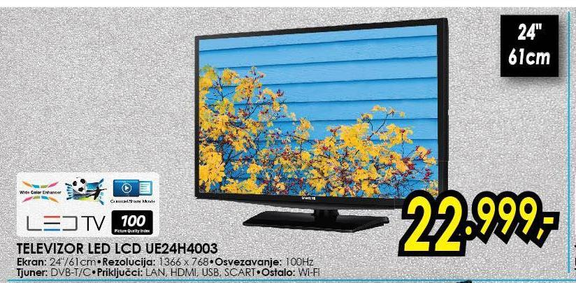 "Televizor LED 24"" UE24H4003"