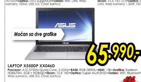 Laptop X550DP-XX046D