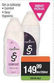 Gel za tuširanje - Vigesimo