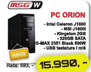 Računar Orion Msgw