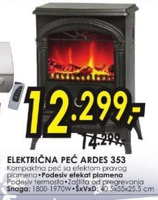 Električni kamin 353