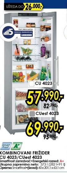 Kombinovani Frižider CUesf4023