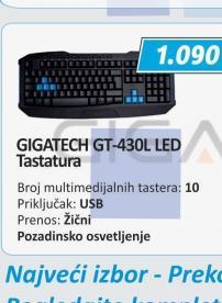 Tastatura GT-430L