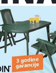 Baštenski sto Molde