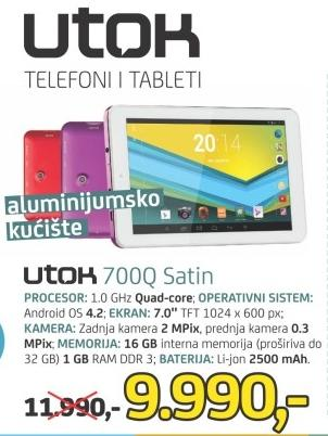 Tablet 700q Satin