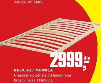 Podnica Basic A20
