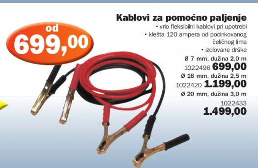 Kablovi za pomoćno paljenje