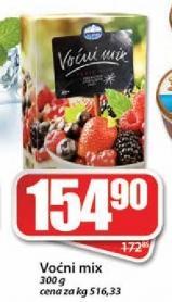 Smrznuti voće mix