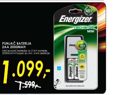 Punjač baterija 2AA 2000MAH
