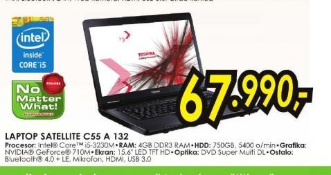 Laptop Satellite C55-A-132