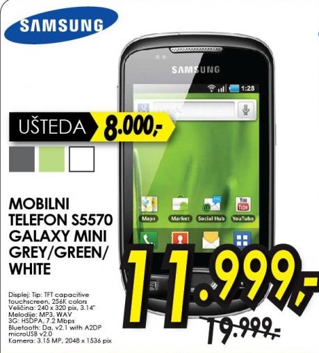 Mobilni telefon S5570 GALAXY MINI