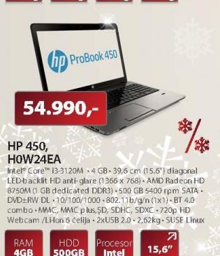 Laptop 450 HOW24EA