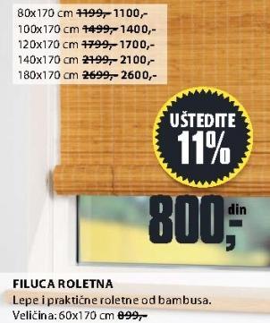 Roletna Filuca