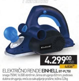 Električno rende Bt-Pl750