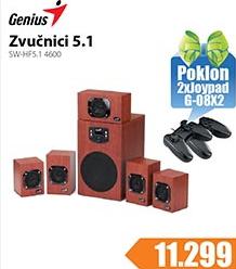 Zvučnici 5.1 SW-HFS5.1 4600