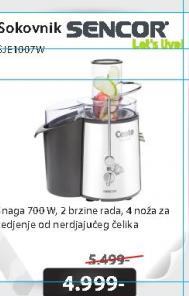Sokovnik Sencor SJE1007WH