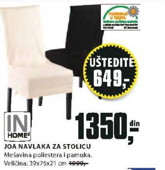 Navlaka  za stolicu Joe