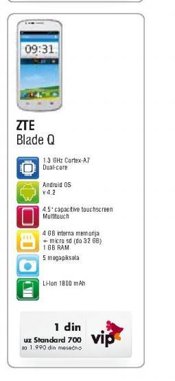 Mobilni telefon Blade Q