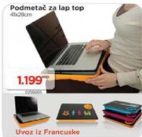 Podmetač za laptop